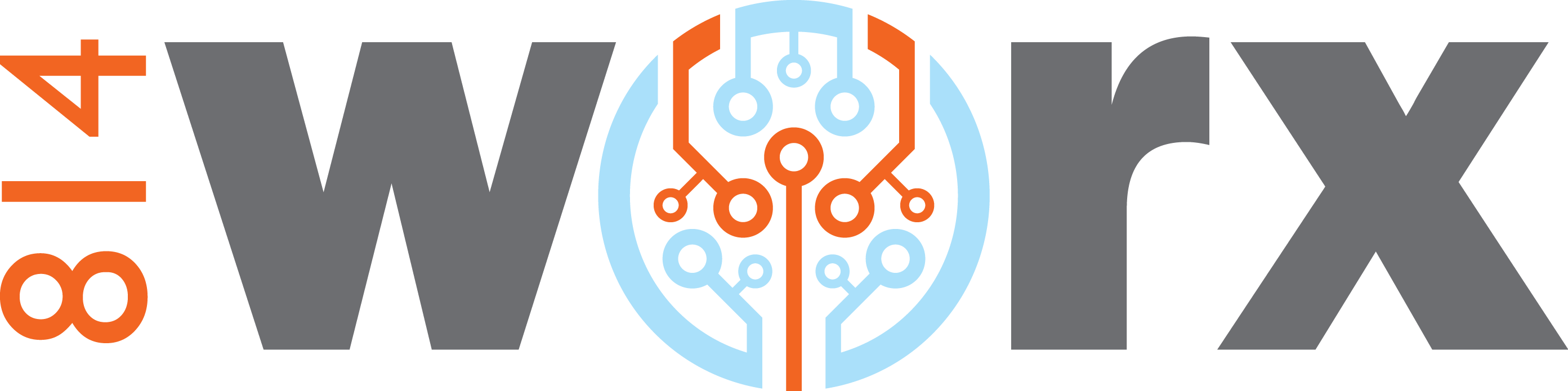 814 works logo